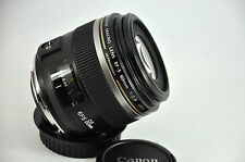 CANON EF-S 60mm 2.8 MACRO USM LENS - 60 mm f/2.8 ULTRASONIC boxed ,
