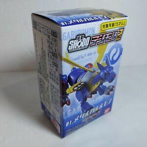 """2021 Digimon Shodo MISB 3"""" MetalGarurumon Posable Figure Bandai"""