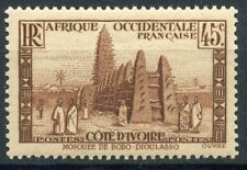 TIMBRES COLONIES FRANCAISES COTE D'IVOIRE N° 119 ** MOSQUEE DE BOBO-DIOULASSO
