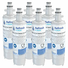 Fits LG WF-LT700P Refrigerator Water Filter Replacement - by Refresh (6 Pack)