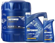 10W40 Semi Synthetic Defender Engine Oil 501.01/505.00 MB 229.1 SL MANNOL