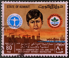 Stamp Kuwait 1979 80F World Environment Day Used