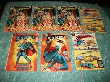1971-71 SUPERMAN 233 234 235 235 236 236 236 DC Comic 7 LOT