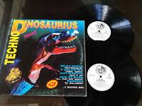 "Techno Dinosaurius MAX MIX BLANCO Y NEGRO 1993 G VG LP 12 "" vinyl Vinyl"