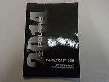 2014 Polaris Ranger XP 900 Maintenance Safety Owners Manual FACTORY NEW