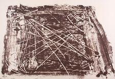 Antoni Tapies - Komposition -Farblithografie aus Derrière le miroir No. 210 1974