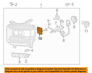 GM OEM-Headlight 22853757