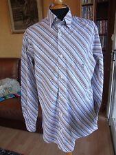 camisa de manga larga hombre BLANCO Man largo manga camisa talla L