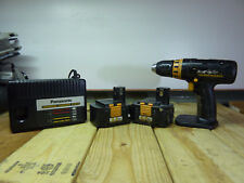 "Panasonic EY6431 Drill, 1/2"" Chuck, 2 15.6V 3.5A Batteries and EY0110 Charger"