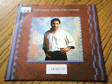 "PAUL SIMON - UNDER AFRICAN SKIES  7"" VINYL PS"