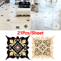 21Pcs/Sheet Gap Sticker Tile Decals Floor Sticker Tile Diagonal Sticker