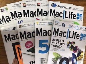 MacLife Magazines #'s 61, 63 - 70