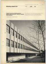 1969 Precast Concrete Cladding Panels, Offices Shirley Solihull