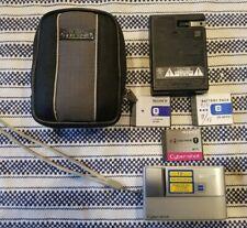 Sony Cyber-shot DSC-T10 7.2MP Digital Camera - Silver.     3 batteries