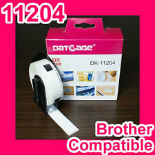 10 rolls of Compatible Brother DK-11204 Multi-Purpose Label