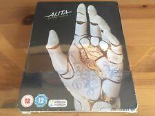 ALITA: BATTLE ANGEL 2D/3D/4K UK Limited Edition Blu-Ray Steelbook *BRAND NEW*
