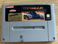 Top Gear Video Game for Super Nintendo, SNES, Cart only
