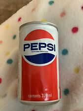 More details for vintage unopened empty pepsi can -- rare -- factory error ,no opening to top