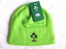 IRELAND Canterbury RUGBY Jasmine Green 2018 BEANIE Toque Hat Tags OSFA Official