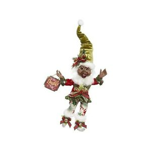 """Mark Roberts 13.5"""" Black African-American Naughty Elf Small Collectible Figurine"""