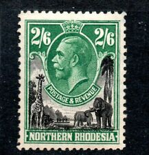 Northern Rhodesia  GV 2/6 mint