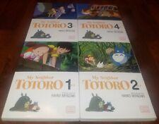 My Neighbor Totoro Film Comic Vol.1-4 English Manga Graphic Novels Brand New Lot