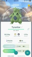 High Level Pokemon Go Tyranitar Trade 3000+ CP