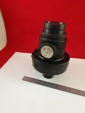 MICROSCOPE PART PHOTO EYEPIECE + SHUTTER OPTICS AS IS #D3-A-16