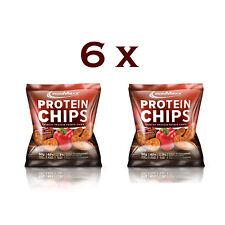 Ironmaxx  Protein Eiweiss Chips -  Tüte - Paprika ( 6 x 50g Set )