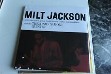 "MILT JACKSON AND THE THELONIOUS MONK - VINILE - LP 33 GIRI - 12"" SIGILLATO"