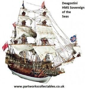 Deagostini HMS Sovereign of the Seas