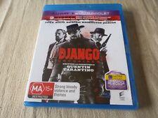 Django Unchained (Blu-ray, 2013) Region Free Jamie Foxx, Christoph Waltz