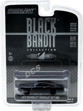 GREENLIGHT 1972 CHEVROLET CHEVELLE SS 396 BLACK BANDIT 1/64 DIECAST CAR 27880 B