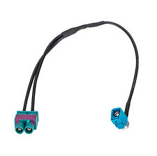 A4A Twin Fakra Male To Fakra Female For Aftermarket Radio For Vw Skaa-53G