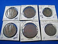 CANADA - LOT OF 6 -  BANK TOKENS     (skcl1)