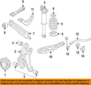 GM OEM Rear Suspension-Lower Control Arm 84059879