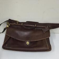 Coach  A5C-5266 Brown Leather Beekman Briefcase Messenger Bag Purse