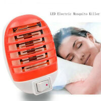 2018 Electric LED Mosquito Fly Bug Insect Trap Zapper Killer Night Lamp NEW