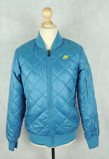 MEN'S NIKE PRIMALOFT QUILTED FILLED JACKET -  Sports Coat - Small Size - BLUE