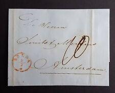 *** BRIEF 1851 BREDA - AMSTERDAM ***