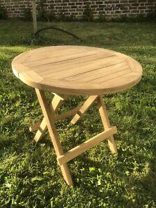 Folding Wooden Garden Table For Sale | EBay