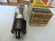Radio Tube Philco 5Y4G  Tests strong /Black plates