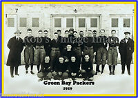 Green Bay Packers Team photo Poster NFL Vintage 1919 First year  photo 13 X19