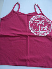 Red Herring Sun Top Bright Pink Age 11-12