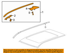 Cadillac GM OEM 10-16 SRX Roof Rack Luggage Carrier-Side Rail Left 15947582