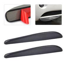2pcs Carbon Fiber Texture Bumper Edge Scratch Protector Strip Guard Sticker