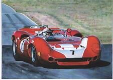 John Surtees, Lola T70 art  print