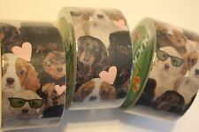 Lot of 3 New/Sealed Duck Brand Duct Tape Puppy Pups Dogs 1.88 Inches x 10 Yards