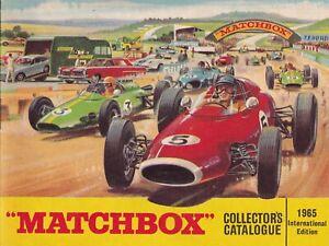 MATCHBOX COLLECTORS CATALOGUE 1965 International edition - original & mint