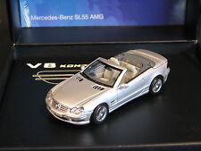 Norev Mercedes-Benz SL 55 AMG V8 Kompressor 1:43 Silver (JS)